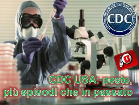 CDC USA Peste