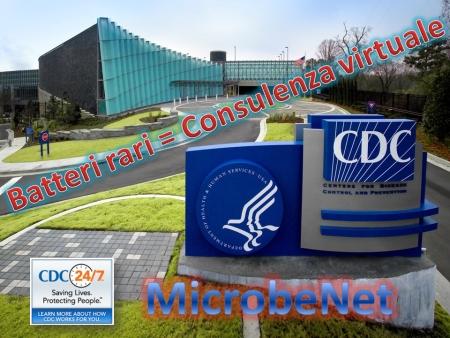 CDC: Batteri rari – Consulenza virtuale