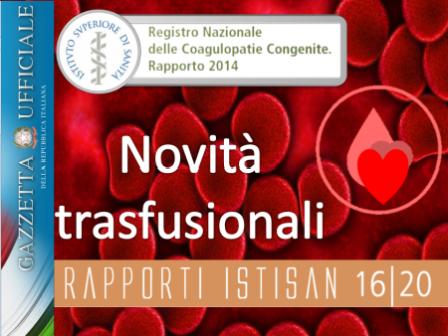 """Novità trasfusionali """"ad hoc"""""""
