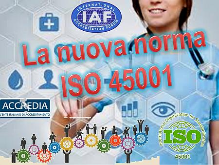 La nuova norma ISO 45001