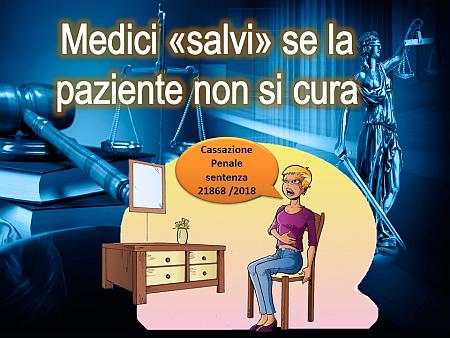 """Medici """"salvi"""" se la paziente non si cura"""