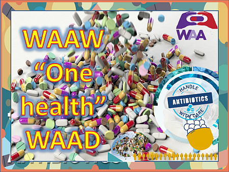 "WAAW ""One health"" WAAD"