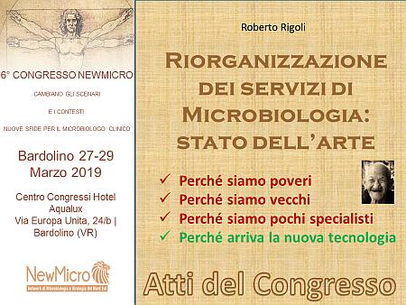 Riorganizzare in Microbiologia
