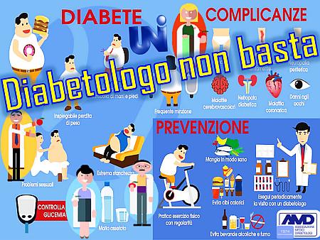 Diabetologo non basta