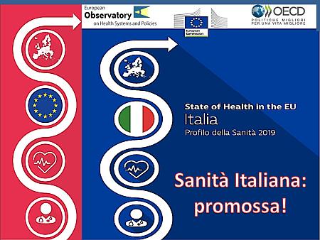 Sanità Italiana: promossa
