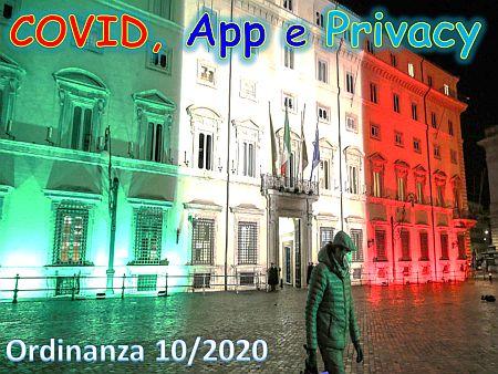 COVID, App e Privacy
