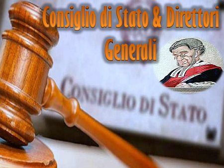 Consiglio di Stato e Direttori Generali