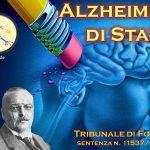 Alzheimer di Stato