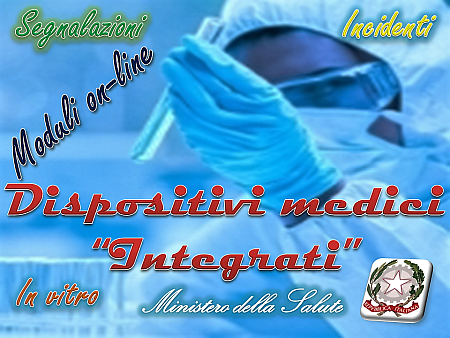 """Dispositivi medici """"integrati"""""""