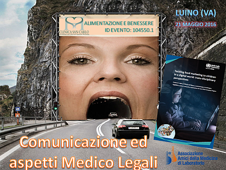 Alimentazione, Comunicazione ed aspetti Medico-Legali