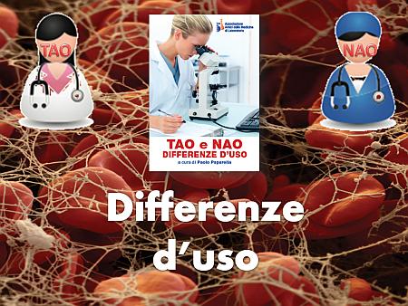 TAO e NAO: differenze d'uso