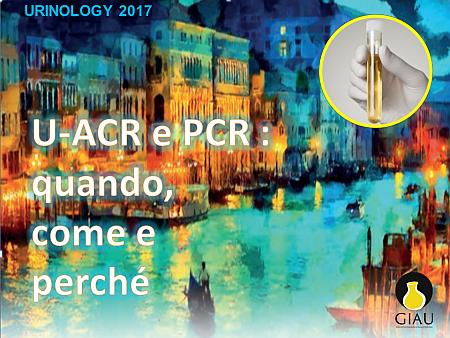 Urine: ACR e PCR quando come e perché