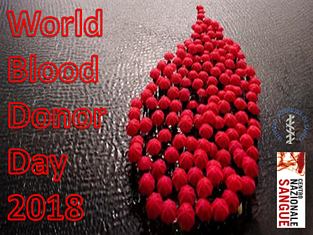 World Blood Donor Day in Italia e nel mondo