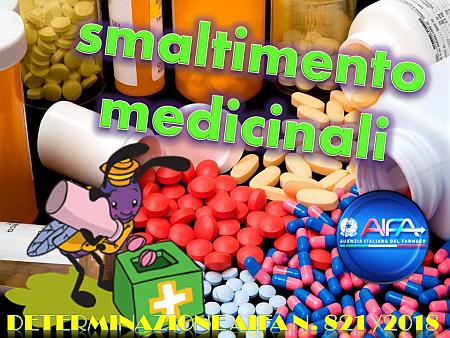 """Smaltimento medicinali e """"bugiardino digitale"""""""