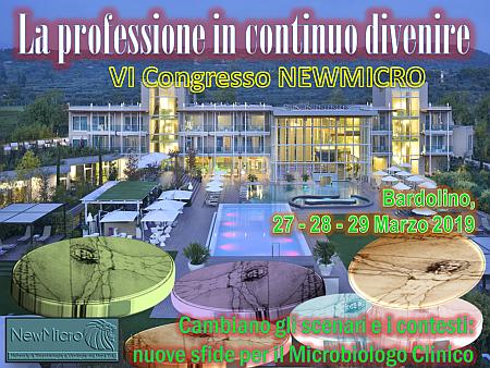 VI Congresso NewMicro: La professione in continuo divenire