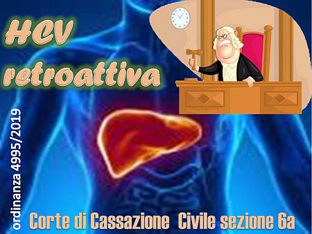 """HCV """"retroattiva"""""""