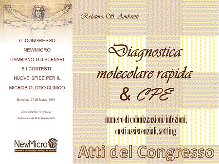 Diagnostica molecolare rapida & CPE