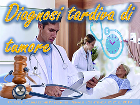 Diagnosi tardiva di tumore