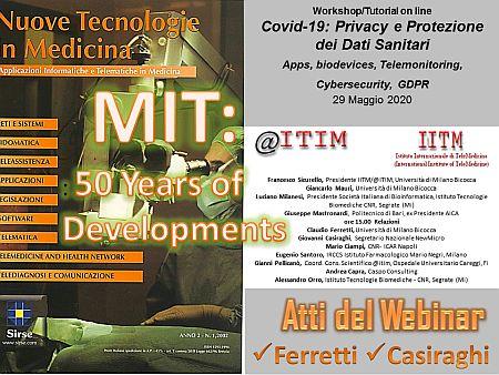 Informatica Medica e Telemedicina: 50 anni di Sviluppo