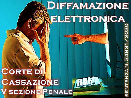 Diffamazione elettronica